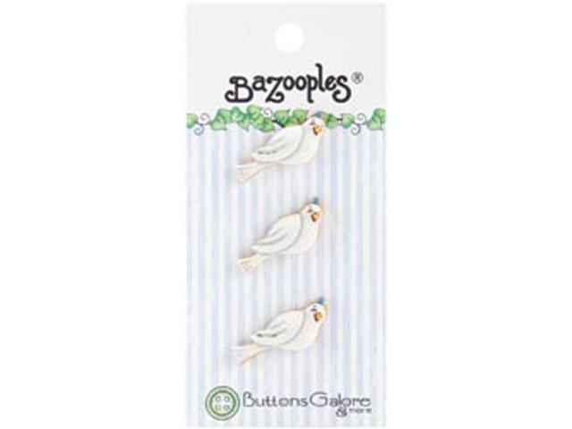 BaZooples Buttons-Doves