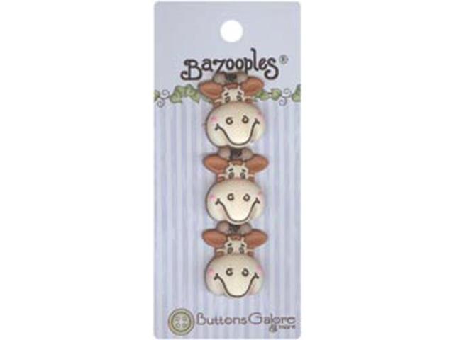BaZooples Buttons-Gertrude The Giraffe