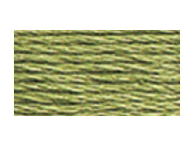 DMC Pearl Cotton Skeins Size 5 - 27.3 Yards-Medium Green Grey