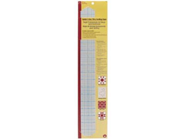 Dritz Quilting See-Through Drafting Ruler -