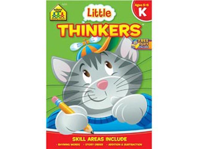 Preschool Workbooks 32 Pages-Little Thinkers Kindergarten