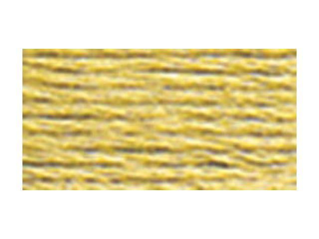 DMC Pearl Cotton Skeins Size 3 - 16.4 Yards-Medium Yellow Beige