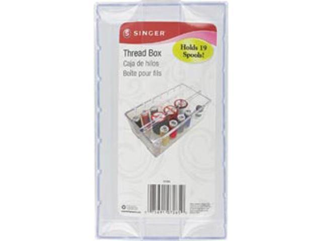 Clear Plastic Thread Box-