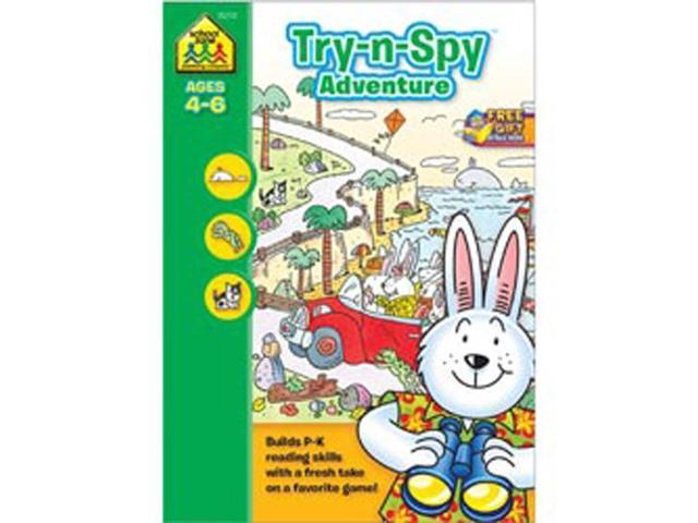 Preschool Workbooks 32 Pages-Try 'n Spy Adventure