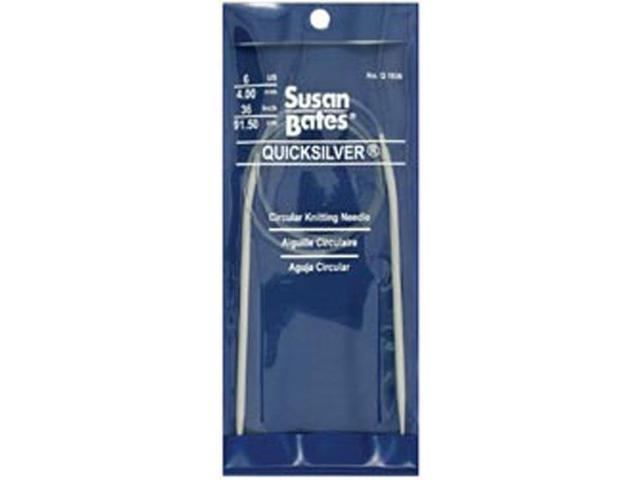 Quicksilver Circular Knitting Needle 36