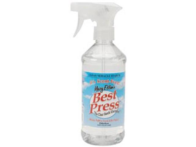 Mary Ellen's Best Press Clear Starch Alternative 16 Ounces-Scent Free