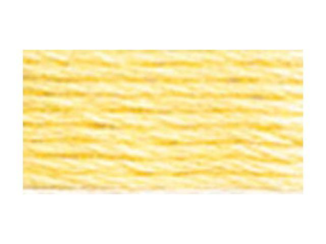 DMC Pearl Cotton Skeins Size 5 - 27.3 Yards-Very Light Golden Yellow