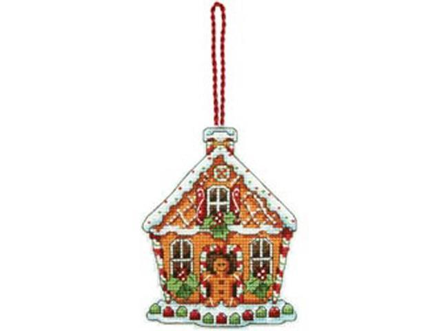 Susan Winget Gingerbread House Counted Cross Stitch Kit-3-1/4