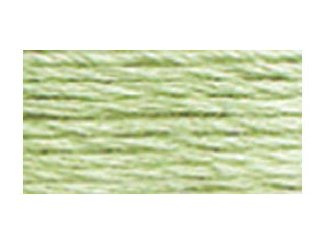 DMC Pearl Cotton Balls Size 8 - 95 Yards-Very Light Pistachio Green