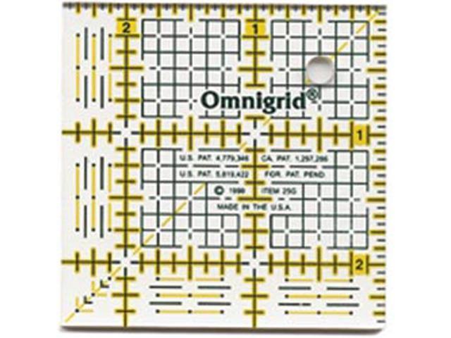 Omnigrid Quilter's Square-2-1/2