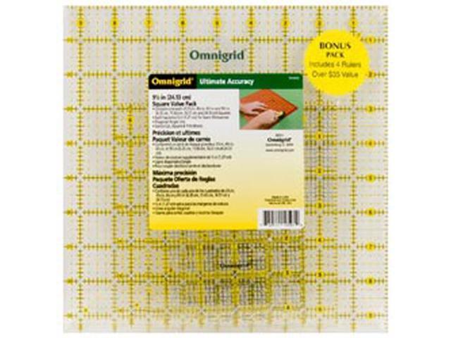 Omnigrid Ruler Value Pack 2-4/Pkg
