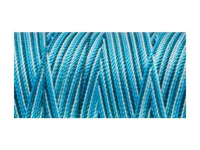 Nylon Thread Size 2 300yd-Turquoise Mix