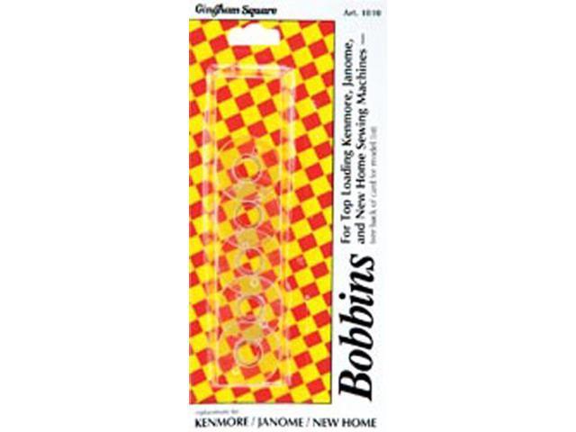 Plastic Machine Bobbins-5/Pkg