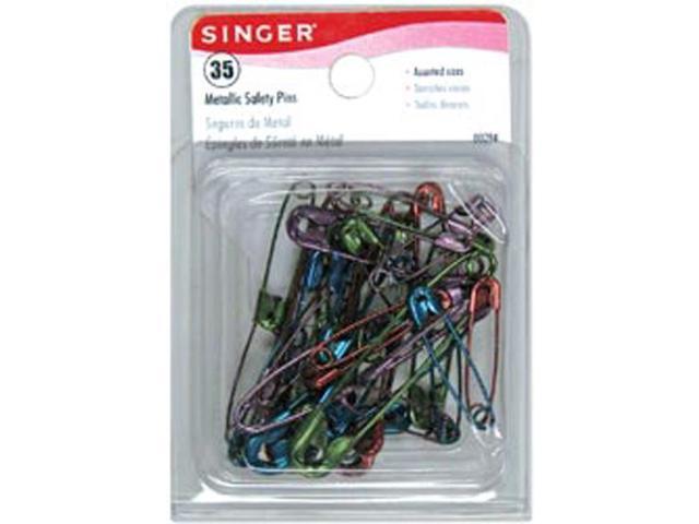 Safety Pins-Assorted 35/Pkg