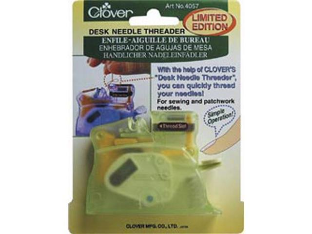 Desk Needle Threader-Green