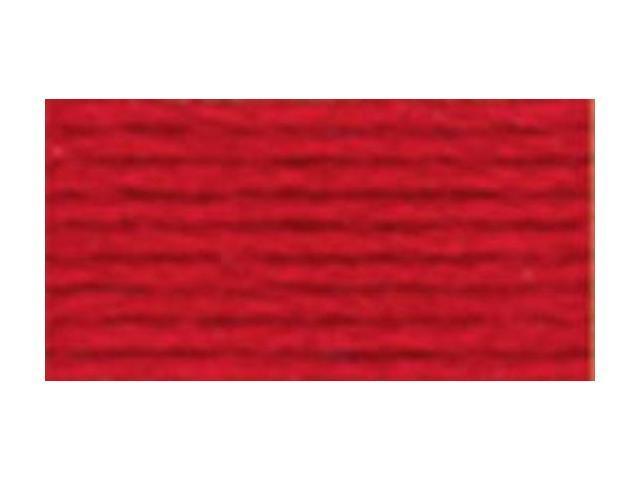 DMC Pearl Cotton Skeins Size 5 - 27.3 Yards-Very Dark Coral Red