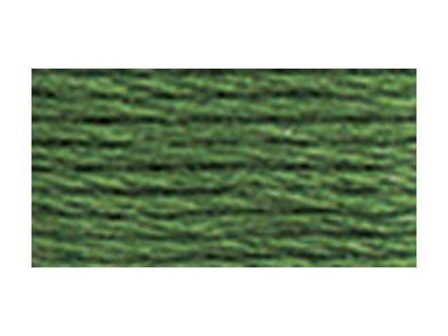 DMC Pearl Cotton Balls Size 8 - 95 Yards-Dark Pistachio Green