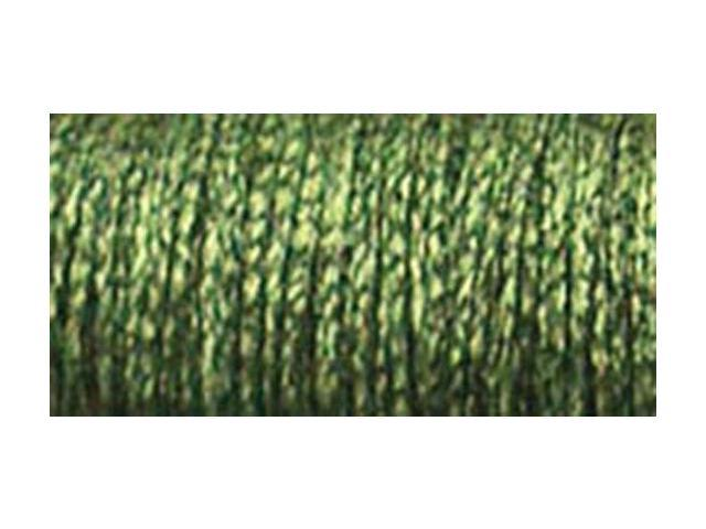 Kreinik Fine Metallic Braid #8 10 Meters (11 Yards)-Adventure Green