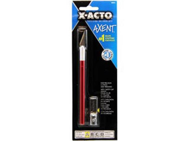 X-Acto AXENT Knife W/Cap-Red