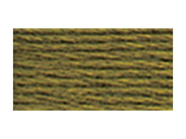 DMC Pearl Cotton Skeins Size 5 - 27.3 Yards-Very Dark Olive Green