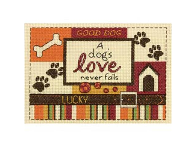 A Dog's Love Mini Counted Cross Stitch Kit-5