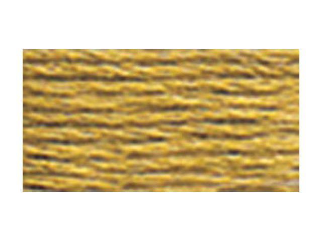 DMC Pearl Cotton Skeins Size 5 - 27.3 Yards-Dark Yellow Beige