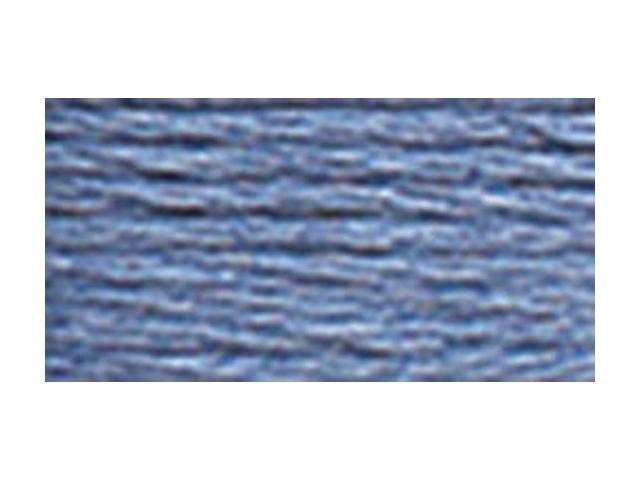 DMC Pearl Cotton Skeins Size 5 - 27.3 Yards-Medium Cornflower Blue