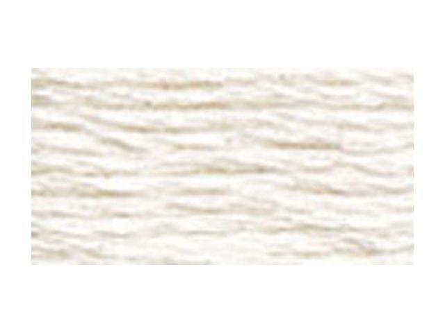 DMC Pearl Cotton Skeins Size 5 - 27.3 Yards-White