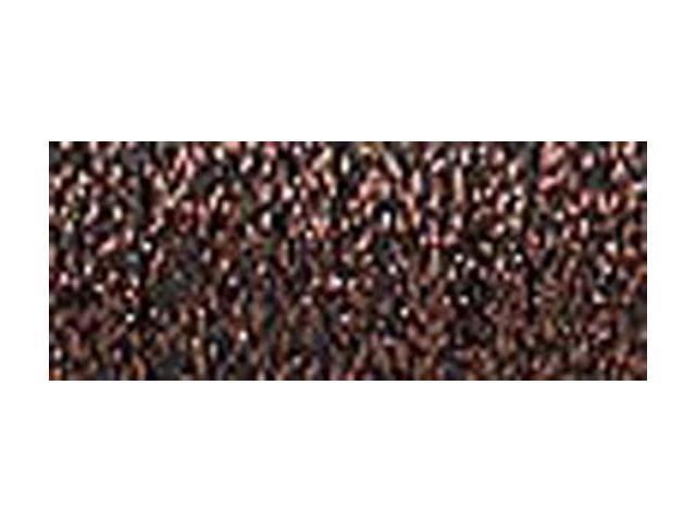 Kreinik Very Fine Metallic Braid #4 11 Meters (12 Yards)-Brown