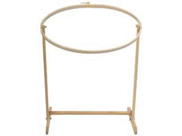 Wood Hoop & Floor Stand 16