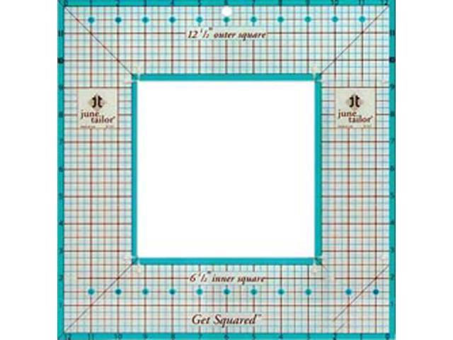Get Squared Ruler-12-1/2