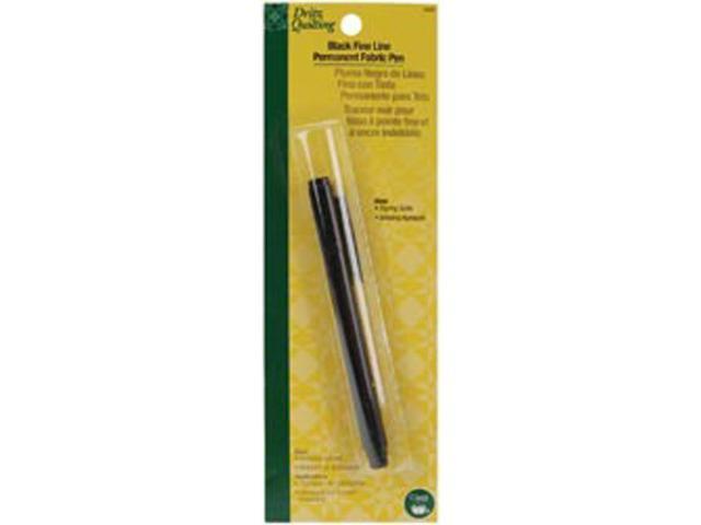 Dritz Quilting Fine Line Permanent Fabric Pen-Black