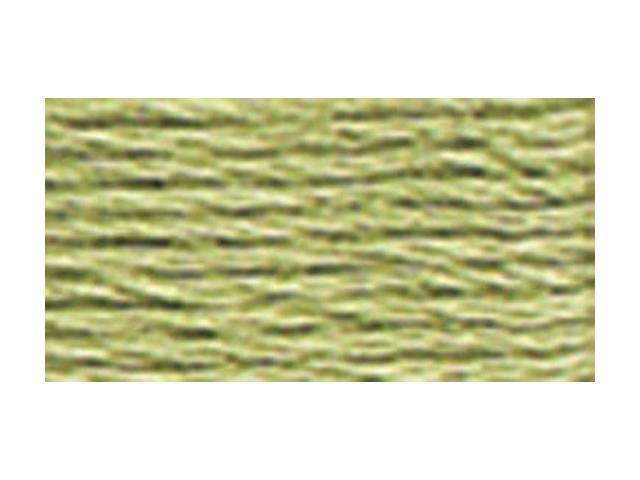 DMC Pearl Cotton Skeins Size 5 - 27.3 Yards-Green Grey