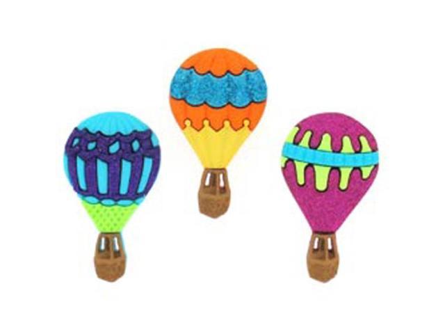 Dress It Up Embellishments-Hot Air Balloons