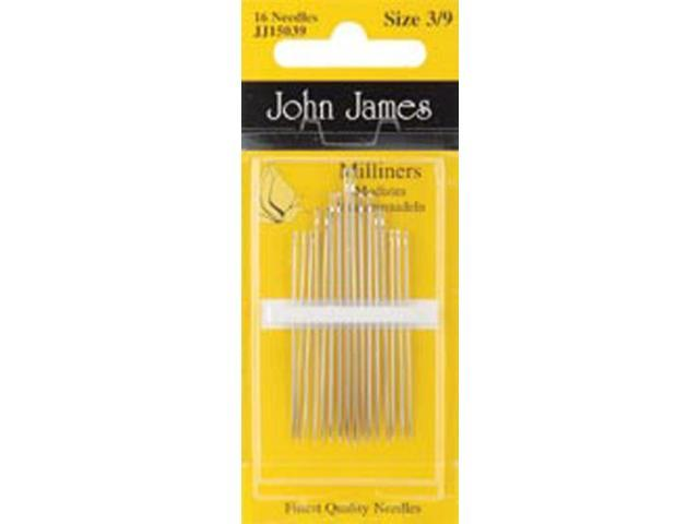 Milliners Hand Needles-Size 3/9 16/Pkg