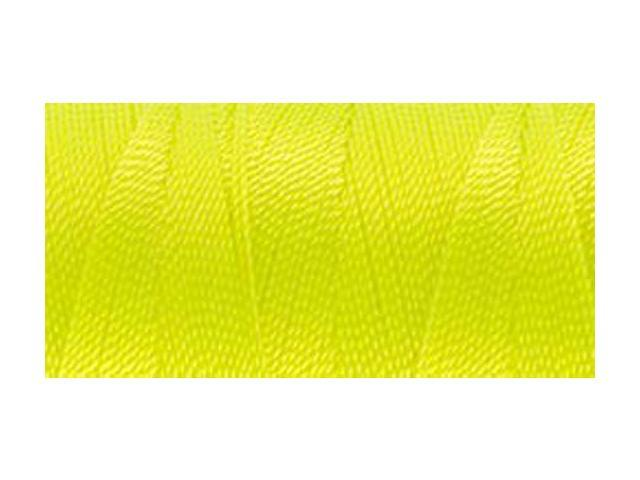 Nylon Thread Size 2 300yd-Neon Yellow