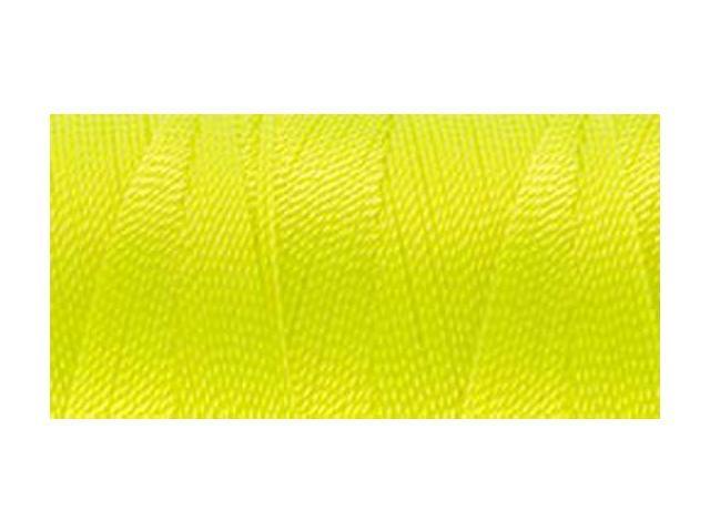 Nylon Thread Size 2 300yd-Neon Yellow