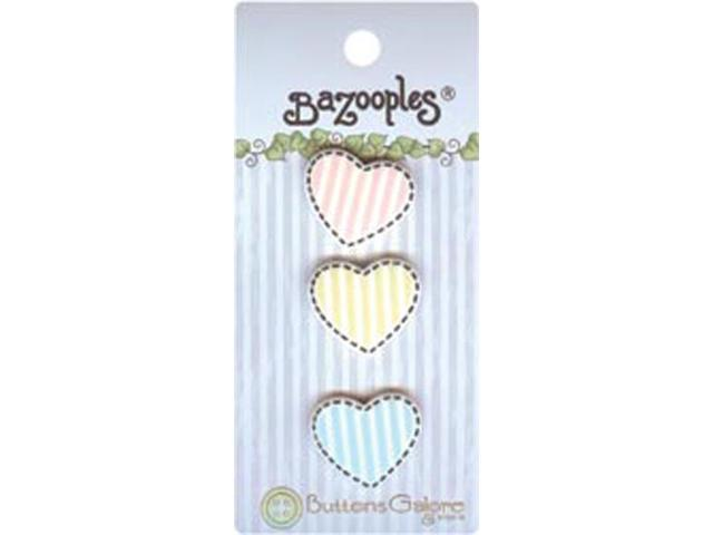 BaZooples Buttons-Hearts