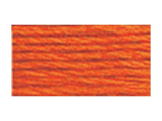 DMC Pearl Cotton Balls Size 8 - 95 Yards-Burnt Orange