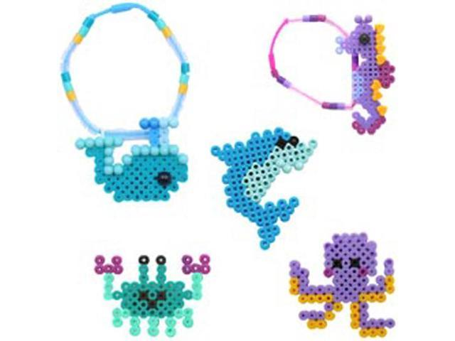 Perler Snap-Ins Fused Bead Kit-Ocean Bracelet