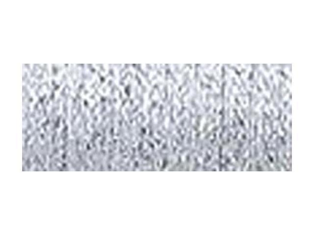 Kreinik Fine Metallic Braid #8 10 Meters (11 Yards)-Platinum