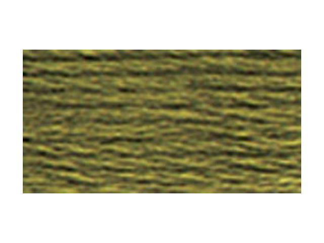 DMC Pearl Cotton Skeins Size 5 - 27.3 Yards-Dark Khaki Green