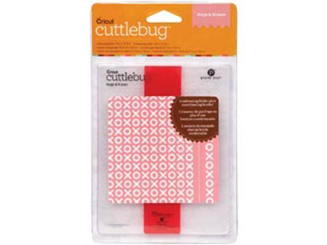 Cuttlebug A2 Embossing Folder/Border Set -Hugs & Kisses
