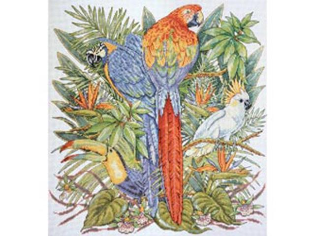 Birds Of Paradise Counted Cross Stitch Kit-16