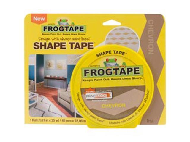 Frog Shape Design Painters Tape -Yellow Chevron