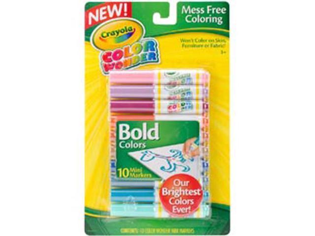 Crayola Color Wonder Mini Markers-Bold