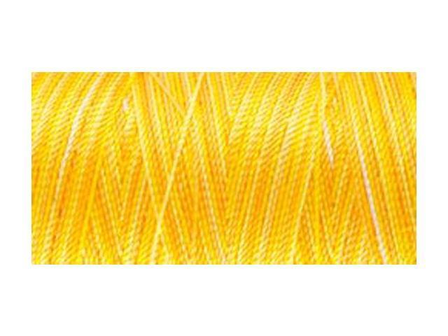 Nylon Thread Size 2 300yd-Yellow Mix