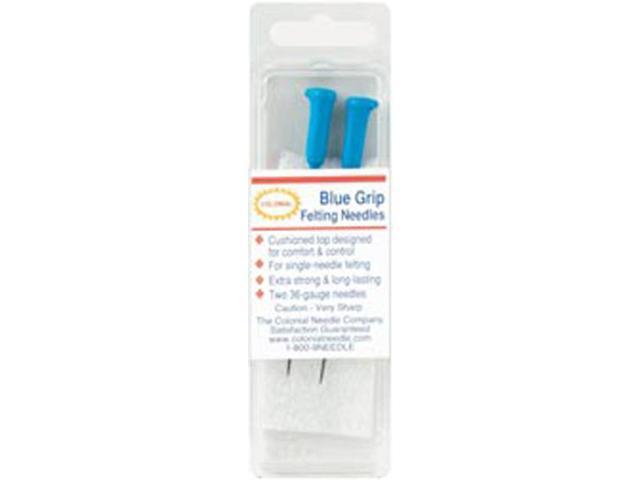 Blue Grip Felting Needles 2/Pkg-Size 36