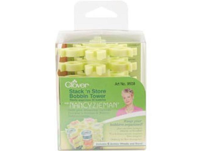 Stack 'n Store Bobbin Tower With Nancy Zieman-3-1/2