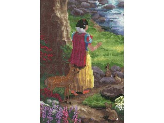 Disney Dreams Collection By Thomas Kinkade Snow White Vignet-5